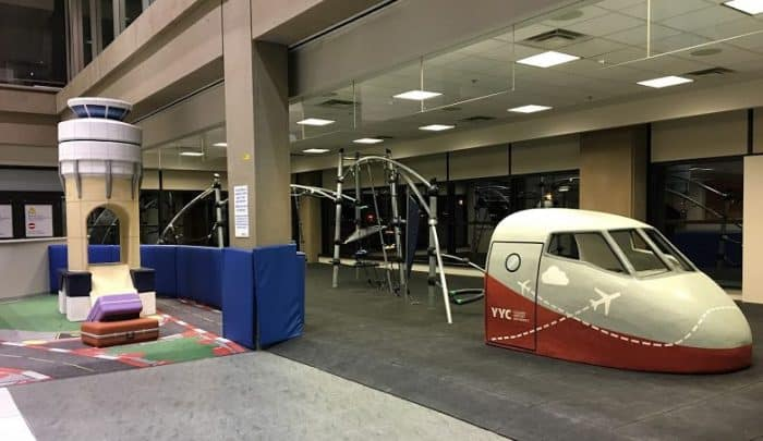 Calgary Airport - kids play area