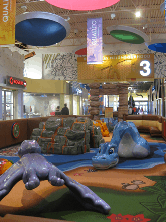 CrossIron Mills–Little Fossil Fun Zone