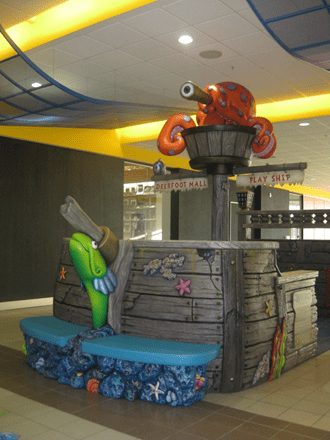 Deerfoot Mall Play Ship – permanently closed