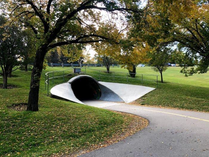 Confederation park tunnel