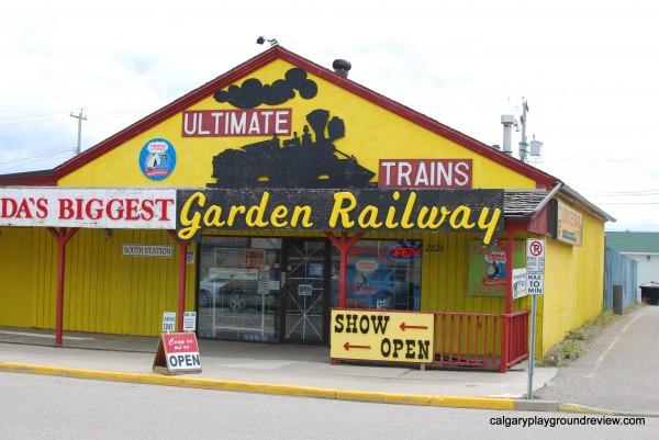 Big Sky Garden Railway–Nanton – permanently closed