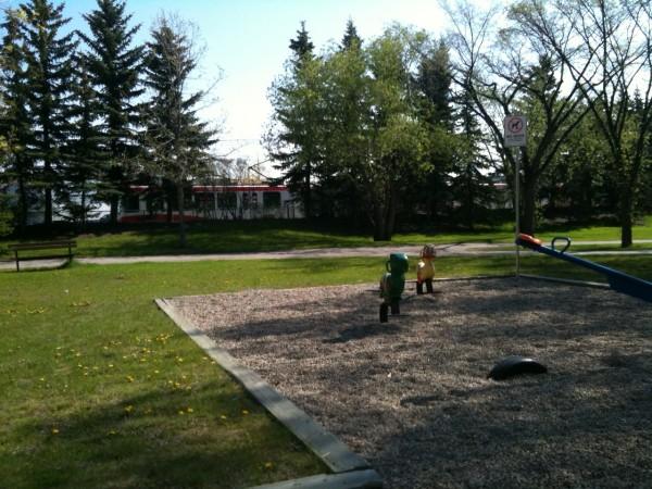 Lion's Park Station Playground