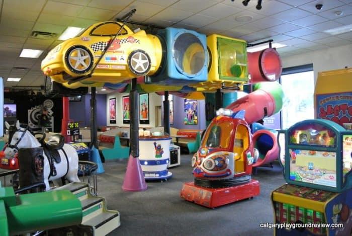 Chuck E Cheese's - - Calgary indoor playgrounds