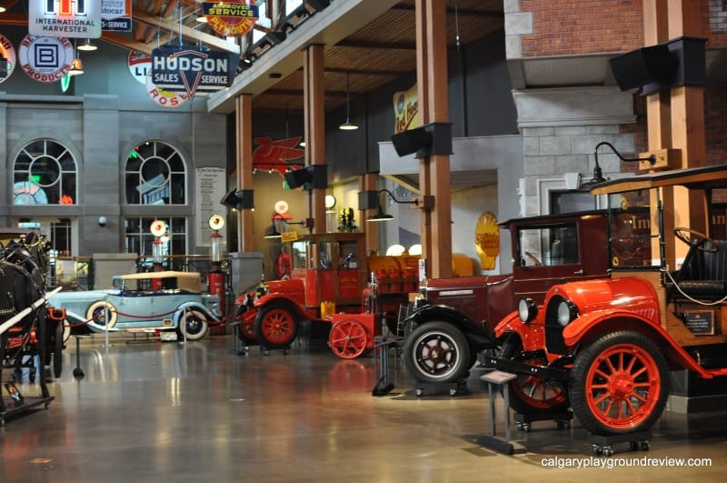 Cars at Gasoline Alley