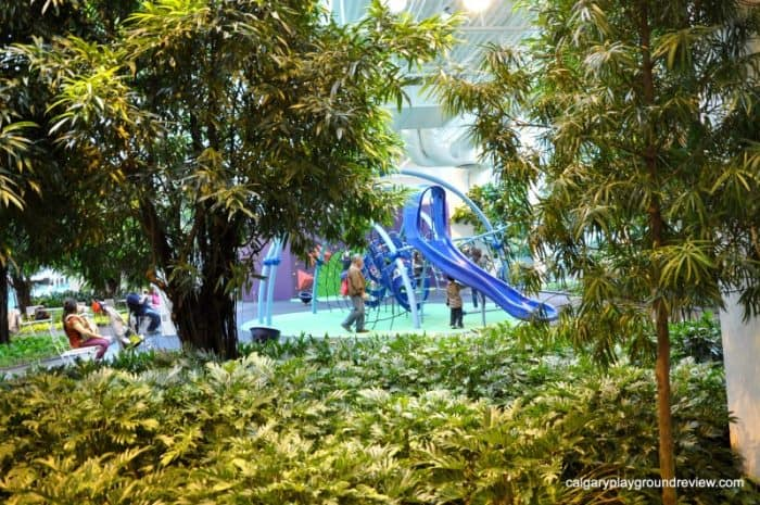 Devonian Gardens playground - free indoor things to do in Calgary