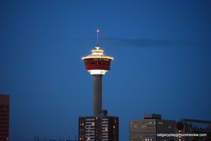 The Calgary Tower with Kids