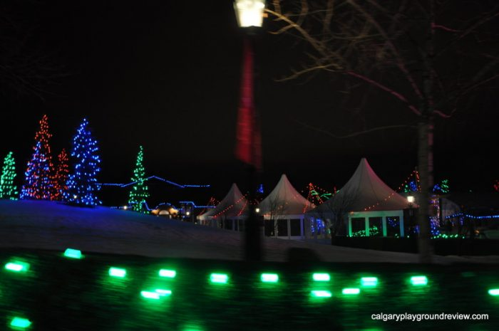Spruce Meadows - Calgary's best Christmas Light Displays