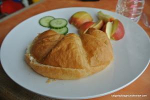 Sunbutter Croissant Sandwich