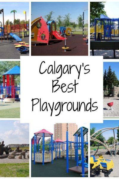 15 of Calgary's Best Playgrounds – 2013