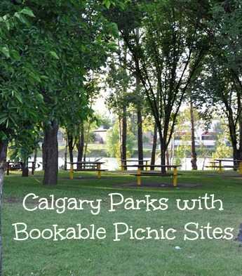Calgary Parks with bookable picnic sites