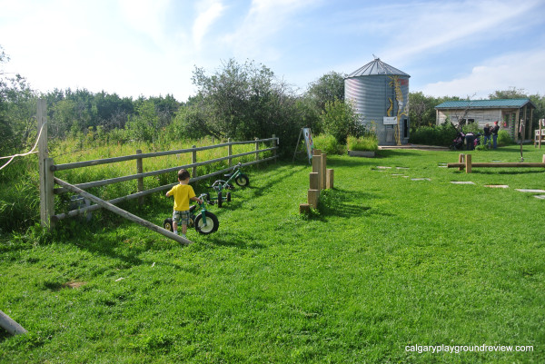 Trikes and Silo at Kayben Farms – Sunshine Adventure Park
