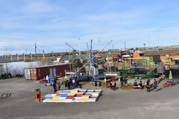 North facing view of Cobb's Fun Farm