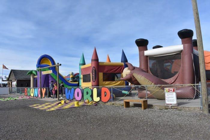 Bouncy World - Cobb's Adventure Park