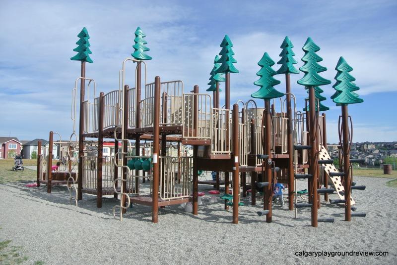 Aspen Hills Forest Playground