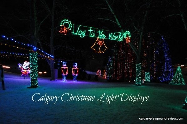 Christmas Light Displays in Calgary – 2013