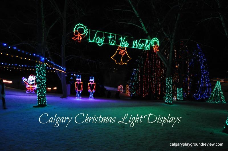 Christmas Light Displays in Calgary - 2013 - calgaryplaygroundreview.com