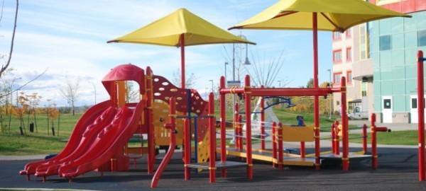 alberta children's hospital playground