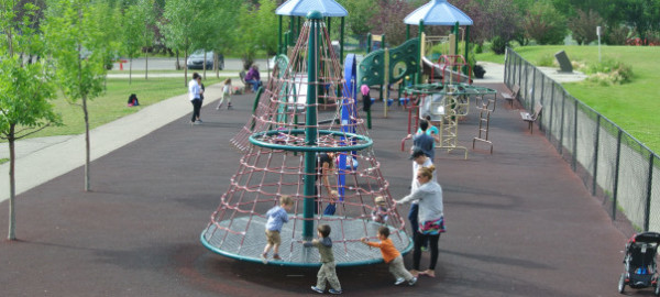 bridgeland playground