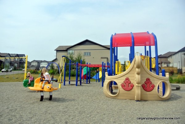 Sage Hill Pirate Ship Playground
