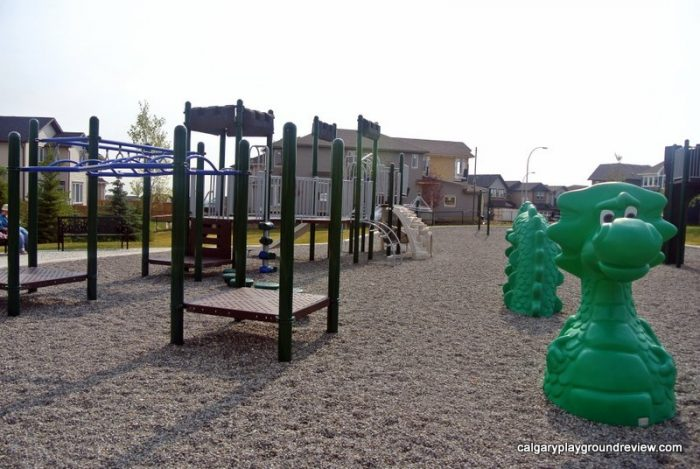 Nolan Hill Castle Playground - calgaryplaygroundreview.com