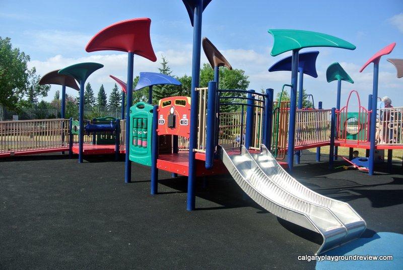 Forest Lawn Ramp Playground