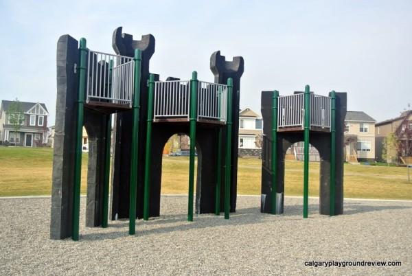 Nolan Hill Castle Playground - calgaryplaygroundreview.com