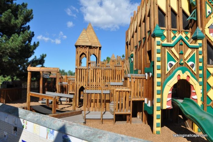Dragons Hollow Playground - Missoula, Montana