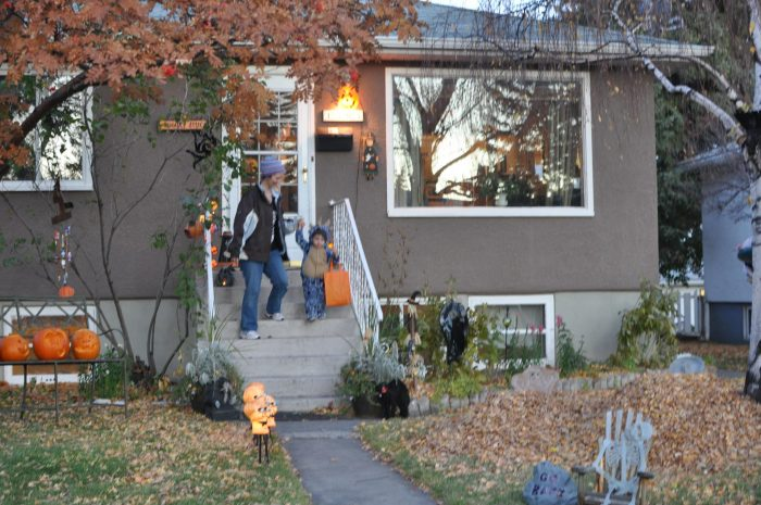 Halloween Fun in Calgary - Trick or treating