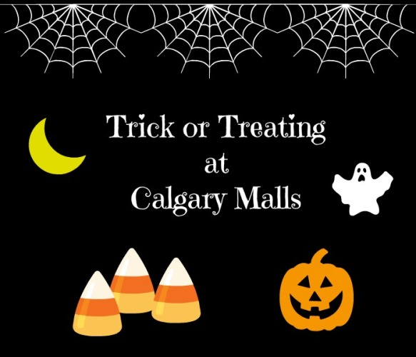 Halloween at the Mall – Trick or Treating in Calgary Malls – 2017