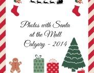 photos with santa at the mall calgary 2014