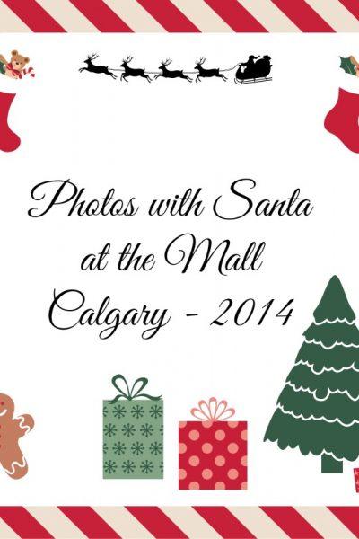 Photos with Santa at the Mall – 2014