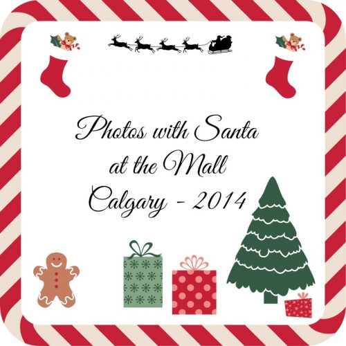 Photos with Santa at the Mall – 2014