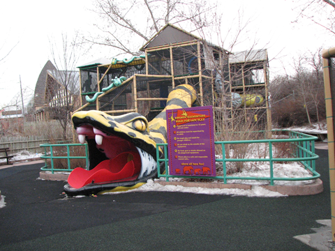 Zoo Playground - Calgary Zoo - Zoo in the Winter - calgaryplaygroundreview.com