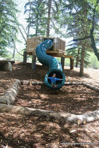 Nature Centre Playground - Red Deer - calgaryplaygroundreview.com