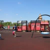 Nicholas Sheran Park - #albertastaycation - calgaryplaygroundreview.com