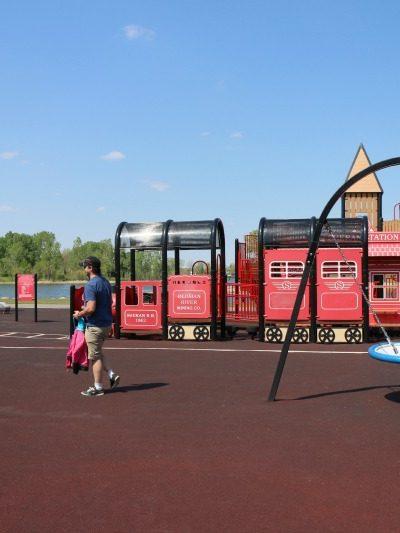 Nicholas Sheran Park Playground – Lethbridge