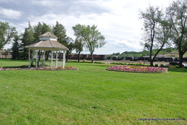 Rotary Park Trains - Medicine Hat Alberta Staycation