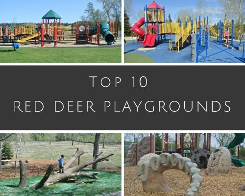 10 of the Best Playgrounds in Red Deer and Blackfalds