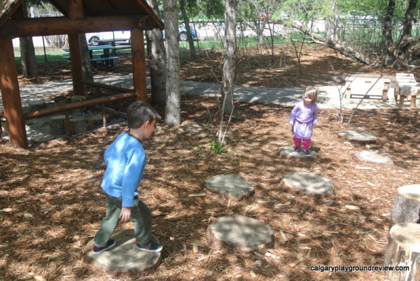 Kerry Wood Nature Centre Natural Playground – Red Deer