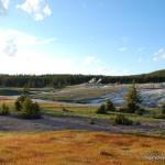 Geyser Hill - Yellowstone National Park