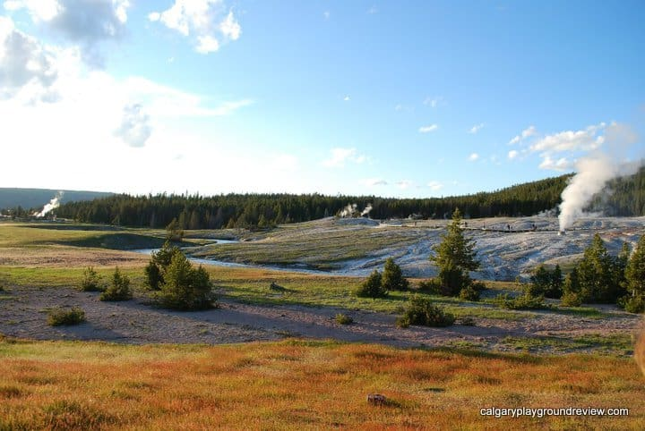 Geyser Hill - Yellowstone National Park