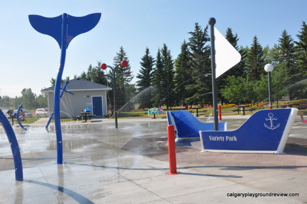 South Glenmore Park Nautical Spray Park