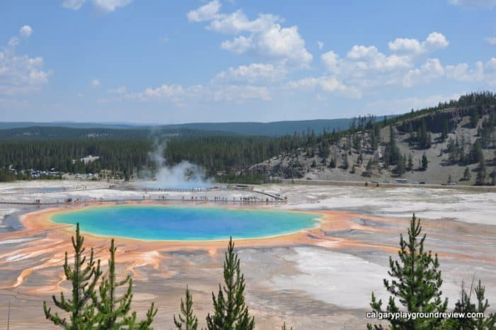 Grand Prismatic - Yellowstone National Park