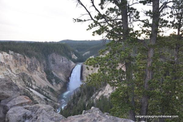 Lower Falls - Grand Canyon of Yellowstone - Yellowstone National Park