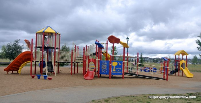 Haddow Park Playground - Awesome Edmonton Playgrounds - South of the River