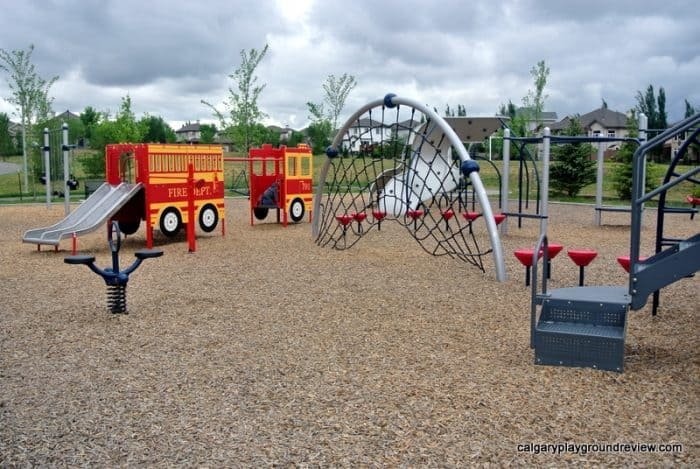 Hodgson Park Playground - Awesome Edmonton Playgrounds - South of the River