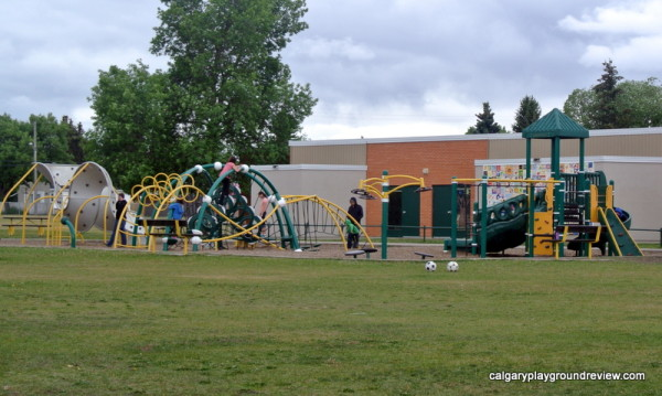 Greenfield School Playground - Awesome Edmonton Playgrounds - South of the River