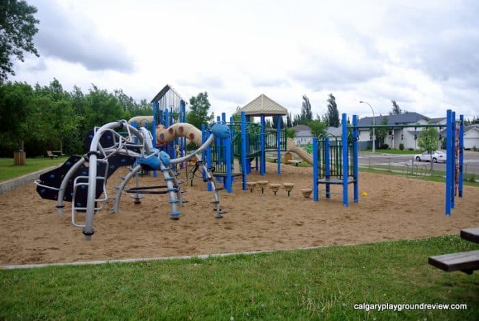 Cloverbar Ranch Park Playground - Sherwood Park - Awesome Edmonton Playgrounds - South of the River