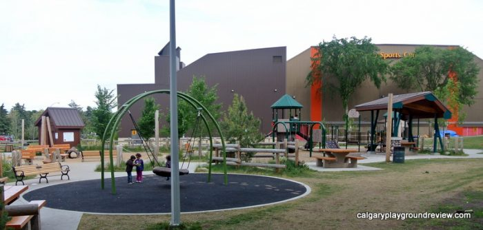 Kinsmen Park Playground - Awesome Edmonton Playgrounds - South of the River