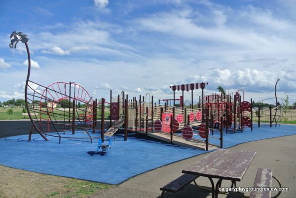 Medicine Hat Playgrounds, Parks and Spray Parks - Family Leisure Centre Playground - Medicine Hat